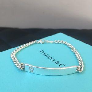 Tiffany Bar Heart Bracelet